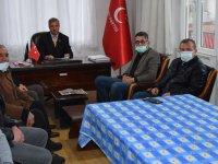 SP İlçe başkanı Ali Dursun, ilk toplantısında görev bölümünü yaptı