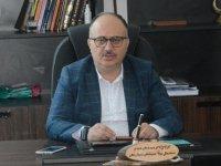 AK Parti İlçe Başkanı Füzün, basın açıklaması düzenledi