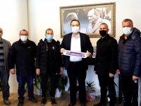 Akhisargücü'den Belediye Başkanı Dutlulu'ya ziyaret