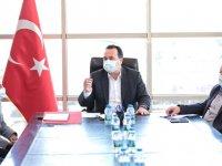 Başkan Besim Dutlulu, kırsal mahalle muhtarlarını dinledi