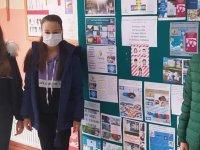 Ülkü Ortaokulu, e-Twinning Projesi ile eğlenerek öğreniyor ve öğretiyor