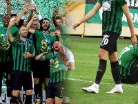 İki kupa sahibi Akhisarspor, Spor Toto 1. Ligine Giresun deplasmanında veda etti