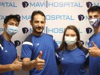 Dünya şampiyonu sağlıkta Mavi Hospital'e emanet
