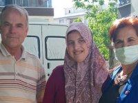 CHP Akhisar İlçe Kadın Kolları engelli vatandaşın yardımına koştu