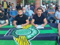 Akhisarspor Taraftarlar Dernekleri ortak basın açıklaması yaptı