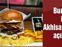 Burger No7 Akhisar'da açıldı