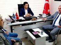 Alaşehir'den İYİ Parti İlçe Teşkilatına ziyaret