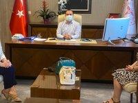 Pınar Gören'den İl Sağlık Müdürü Erkuş'a ziyaret