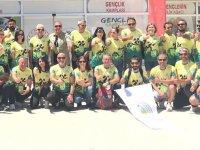 Türkiye oryantiring şampiyonası Demirci'de spor şölenine dönüştü