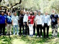 AK Parti ilçe teşkilatı basın mensupları kahvaltıda bir araya geldi