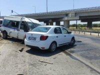 Akhisar ile Saruhanlı arası zincirleme kaza