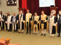Manisa CBÜ Akhisar MYO'da mezuniyet töreni