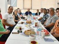 İlçe Spor Müdürü Oktay, basınla kahvaltıda buluştu