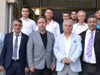Yeniden Refah Partisinden Ziraat Odasına ziyaret