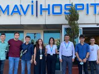 Mavi Hospital, İlk 1000'e Giren Akhisarlı Öğrencileri Ağırladı