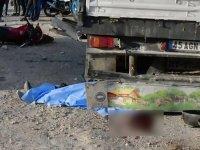 Akhisar'da feci kaza 1 ölü 1 yaralı!