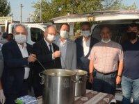 Ahilik Haftasında bin kişilik çorba dağıttılar