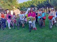 Süslü Kadınlar Bisiklet Turunun ikincisi gerçekleştirildi