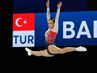 Akhisarlı Cimnastikçi Nil Deniz, Avrupa 7.'si oldu