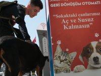 Akhisar'da sokak hayvanları 'Mamamatik' ile beslenecek