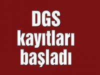 DGS kayıtları başladı