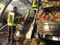 Akhisar – Gölmarmara yolunda kaza! 1 kişi hayatını kaybetti