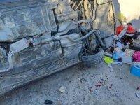 Akhisar'da trafik kazası: 6 yaralı