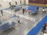 Cumhuriyet Kupası masa tenisi müsabakaları nefes kesti