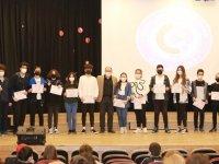 Matematik şampiyonları Eksen Kolejinden