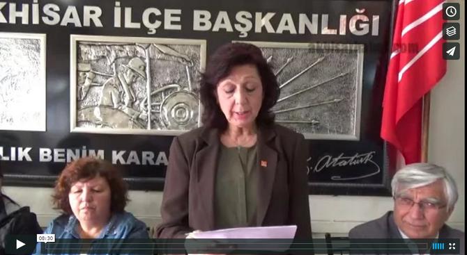 Akhisar CHP, Kuru Gürültü İle Ayıbınızı Örtemezsiniz