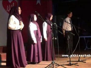 Ayvaz Dede İmam Hatip Ortaokulu Öğrencileri Kutlu Doğum Haftası Programı