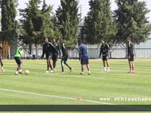 Akhisar Belediyespor'da, Beşiktaş Maçı Hazırlıkları