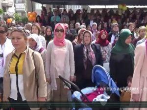 Akhisar'da 23 Nisan Ulusal Egemenlik ve Çocuk Bayramı Kutlama Töreni