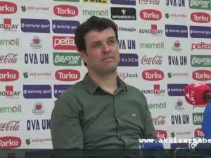 Akhisarspor, Kayserispor Maçı Ardından (1-1)