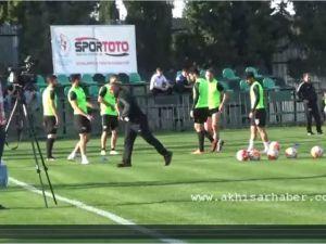 Akhisar Belediyespor Galatasaray Maçı Hazırlıklarına Başladı