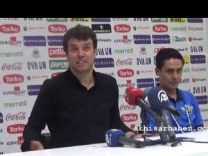 Akhisarspor, Galatasaray Maçının Ardından (1-2)