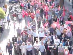 CHP'den Atatürk'ü Anma ve Gençlik Yürüyüşü