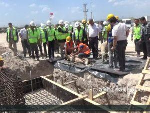 Akhisar OSB'de 200 İşçi Çalıştıracak Fabrikanın Temeli Atıldı