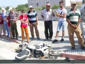 Elektrikli Bisiklet Tıra Çarptı; 2 Yaralı