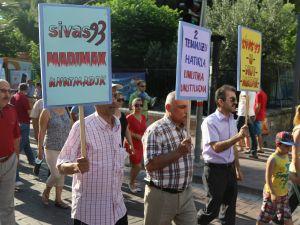Akhisar Demokrasi Platformu, Madımak Katliamının 23'üncü Yılında Katledilenler Andı