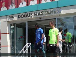 Akhisar Belediyespor'da Hugo Rodallega Sağlık Kontrolünden Geçti