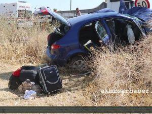 Akhisar-Gölmarmara Yolunda Kaza 1 Kişi Hayatını Kaybetti