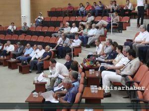 Akhisar Belediyesi Temmuz ayı olağan meclisi yapıldı