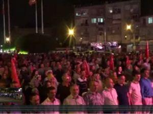 Akhisar demokrasi nöbeti 15.gün