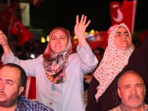 Akhisar demokrasi nöbeti 20.gün