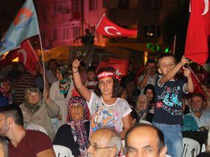 Akhisar demokrasi nöbeti 21.gün