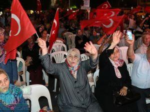 Akhisar'da demokrasi nöbetinin 25.günü