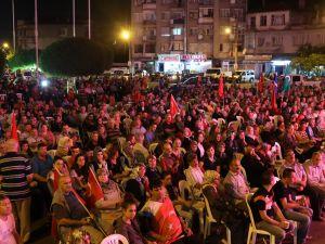 Akhisar'da demokrasi nöbeti 26.gün