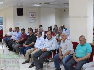 Akhisar SGK Müdürlüğünden Muhtarlara yapılandırma toplantısı
