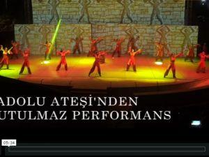 Anadolu Ateşinden Akhisar'da unutulmaz bir performans